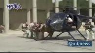 فیلمی از لحظه فرار یکی از مقامات سفارت آمریکا در بغداد