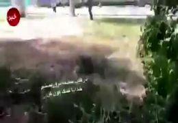 فیلم لحظه تیراندازی تروریست ها  به رژه نیروهای مسلح در اهواز/آمار دقیقی از کشته ها منتشر نشده است