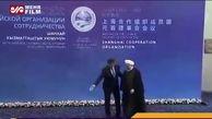 فیلم لحظه استقبال رئیسجمهوری قرقیزستان از حسن روحانی