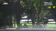 مصرف آزادانه مواد مخدر در نزدیکی ساختمان شهرداری تهران!+ فیلم