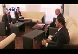 فیلمی از سوتی اردوغان در دیدار با پوتین