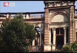 میدان حسنآباد تهران بعد از آتش سوزی+ فیلم