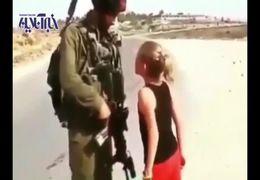 مشت گره کرده دختر بچه سوری در مقابل سرباز ارتش ترکیه سوژه رسانه ها شد+ فیلم
