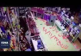 فیلمی از لحظه زلزله ۵.۸ ریشتری در بندرعباس