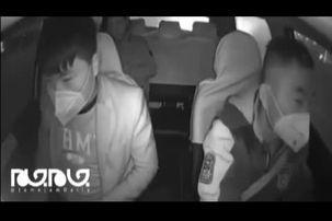 برخورد عجیب راننده تاکسی چینی با مسافری  که کرونا داشت+ فیلم