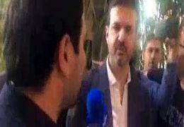 لحظه ورود استراماچونی در تهران