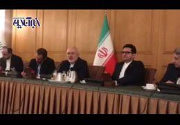 ظریف دلیل استعفایش در سال 97 را فاش کرد+ فیلم
