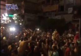 فیلمی از  اعتراضات شدید مردم لبنان