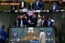 به آتش کشیدن برجام در مجلس شورای اسلامی