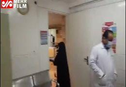 فیلمی از آخرین وضعیت بیمارستان کامکار قم