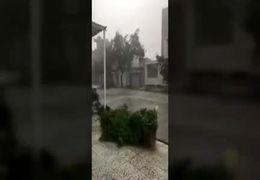 وقوع طوفان در دزفول