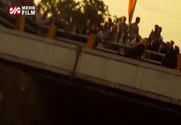 فیلم لحظه خودکشی نافرجام یک دختر در اتوبان امام علی(ع)