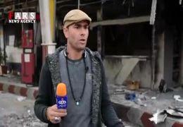 لحظه آتش زدن پمپ بنزین از زبان یک شاهد عینی+ فیلم