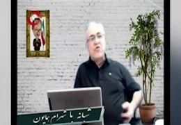 انتقاد مدیر شبکه ماهوارهای ضد انقلاب از مهناز افشار+ فیلم