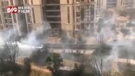 فیلمی از سم پاشی شهر قرنطینه ووهان چین از ویروس مرگآسای کرونا