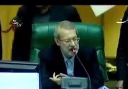 اعتراض رییس مجلس به جنجال برخی از اصولگریان و پهن کردن طومار