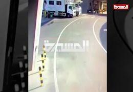 فیلم لحظه حمله پهپاد یمن به فرودگاه ابوظبی