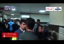 روایت شاهدان عینی از حادثه دلخراش انفجار کپسول گاز در سقز + فیلم