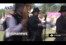 اعتراض گوسفندان به دولت آلمان+ فیلم