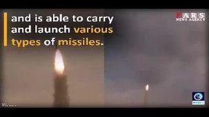 فیلم آزمایش عملیاتی سامانه پدافند هوایی «باور 373»