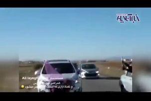منفجر شدن اسلحه همراهان عروس و داماد در یک عروسی ایرانی!+ فیلم