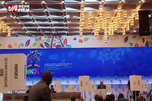 سخنرانی ظریف در نشست وزیران خارجه عضو جنبش عدمتعهد در کاراکاس+ فیلم