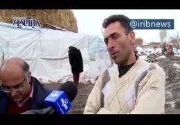 وضعیت اسف بار مناطق زلزله زده آذربایجان شرقی در این روزهای شرد+ فیلم