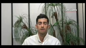 صحبت های راننده خاوری که بار نخالههایش در اتوبان امام علی خالی کرد+ فیلم