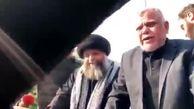 فیلمی از وداع هادی العامری با همرزم شهیدش«ابومهدی مهندس»