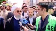 حضور روحانی در راهپیمایی روز قدس: معامله قرن ورشکستگی قرن خواهد بود+ فیلم