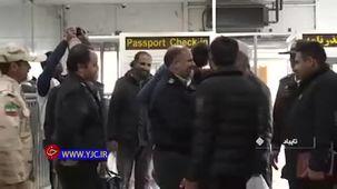 حامد آس جوان معلول ایلامی وارد ایران شد+ فیلم
