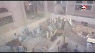 صحنههای دلخراش ازجنایت ائتلاف سعودی-اماراتی در صنعاء + فیلم