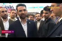 واکنش وزیر ارتباطات به سانسور شدن اش از سوی صدا و سیما + فیلم