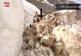 برف 8 متری در استان کهگیلویه و بویراحمد
