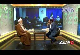 سخنان جنجالی امام جمعه قزوین درباره زمینخواری های مسئولین روی آنتن زنده تلویزیون+ فیلم