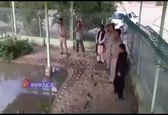 نوجوان سیستان و بلوچستانی که با گاندوها حرف می زند+ فیلم