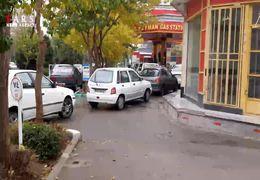 صفهای کیلومتری در وروردی پمپ بنزینهای اصفهان + فیلم