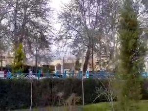 زاینده رود در حال طغیان است/ اعلام اخطار جدی به مردم + فیلم