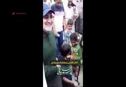 حضور سردار سلیمانی در جمع اهالی مناطق سیلزده